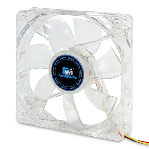 Kingwin CFBL-012LB Long Life Bearing 120mm Blue LED Case Fan