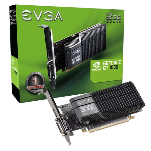 EVGA 02G-P4-6332-KR GeForce GT 1030 Graphics Card