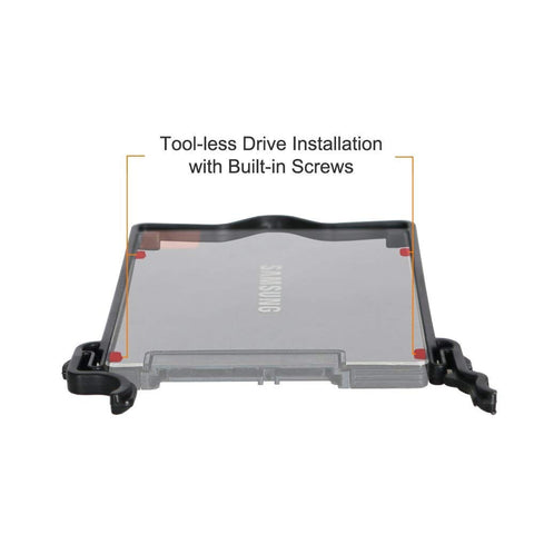 Image of ICY DOCK Triple 2.5 SSD / HDD Bracket / Mount / Adapter / Kit for Internal 3.5 Drive Bay - EZ-FIT Trio MB610SP