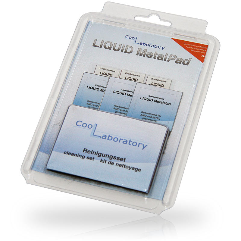 Coollaboratory Liquid MetalPad GPU & CPU Heat Conduction Pad 3 Pack