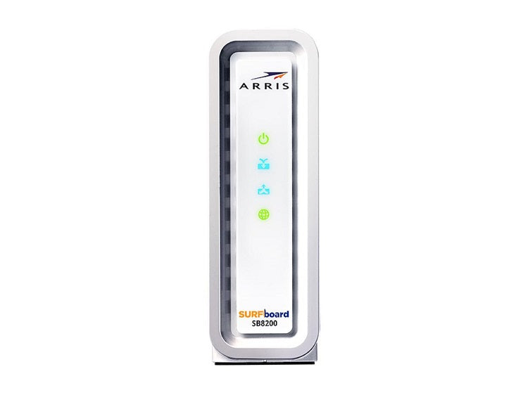 ARRIS SURFboard Docsis 3.1 Gigabit Speed Cable Modem, Approved for Cox, Spectrum and Xfinity, (SB8200)