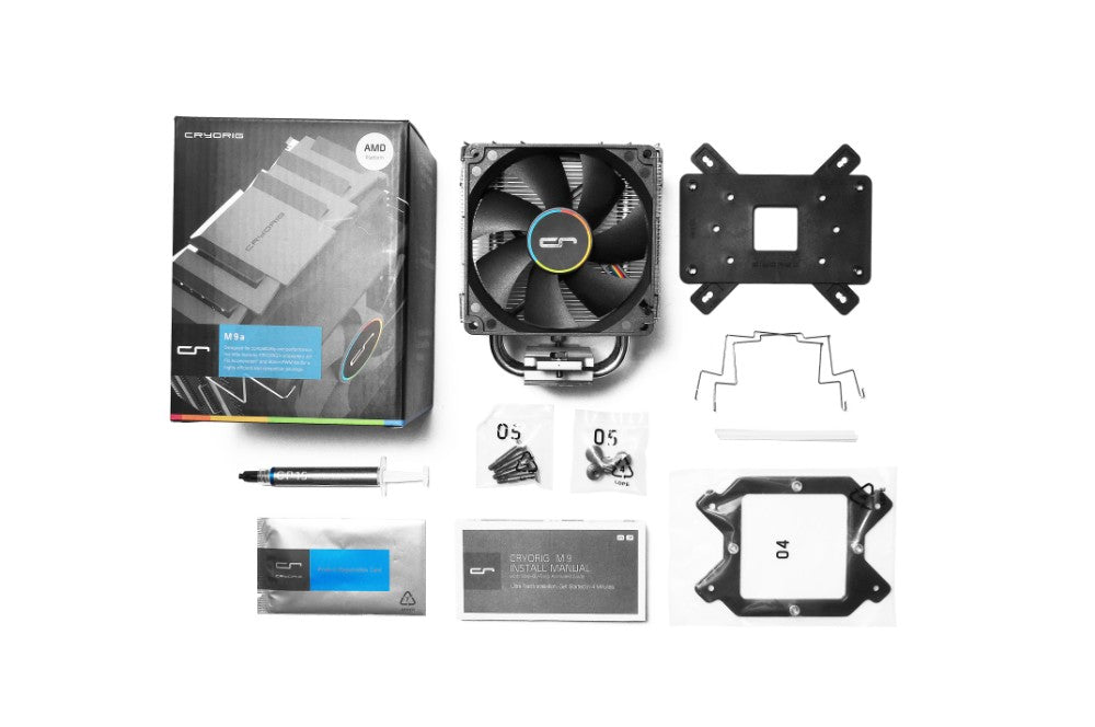 Cryorig M9a Mini Tower Heatsink Cooler for AMD