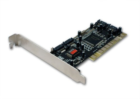Image of Syba 4 Port PCI SATA RAID Controller Card