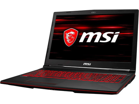 MSI GL63 8RCS-054 156 IPS Intel Core i7 8th Gen 8750H (2.20 GHz) NVIDIA GeForce GTX 1050 8 GB Memory 256 GB NVMe SSD Windows 10 Home