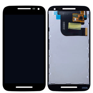 LCD Front Assembly for Motorola G(3rd Gen)/XT1540/XT1541 - Black
