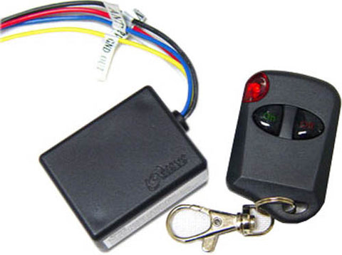 Logisys RM01IC Shock and Water Resistant IC 12VDC - 3A - Single Remote Control
