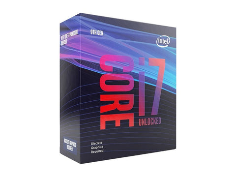 Image of Intel Core i7-9700KF Coffee Lake 8-Core 3.6 GHz (4.9 GHz Turbo) LGA 1151 (300 Series) 95W BX80684I79700KF
