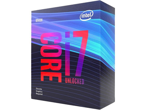 Intel Core i7-9700KF Coffee Lake 8-Core 3.6 GHz (4.9 GHz Turbo) LGA 1151 (300 Series) 95W BX80684I79700KF