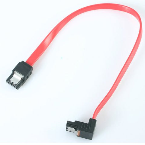 "Image of StarTech LSATA12RA1 12"" Right Angle SATA Cable"