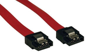 Tripp Lite P940-08I 8-in Male SATA III Data Cable (Red)