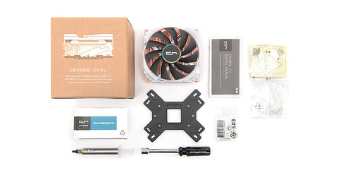 Cryorig C7 Cu 405 CFM SFF Mini ITX Full Copper CPU Heatsink