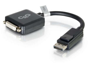 C2G 54321 8 inch DisplayPort to DVI-D Adapter