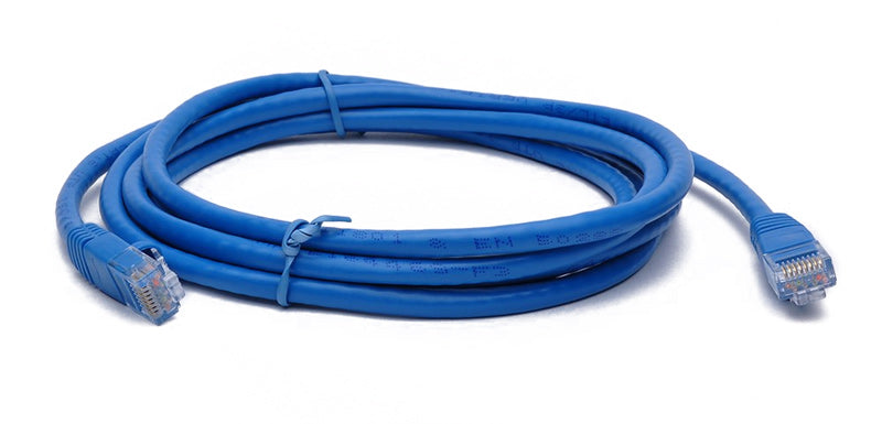 BattleBorn 7 Foot Cat6a UTP RJ45 Ethernet Network Cable (BLUE)