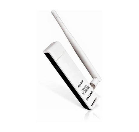 TP-Link TL-WN722N Wireless N USB 2.0 Network Card w/ Removable Antenna