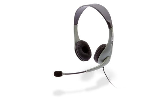 Cyber Acoustics AC-851B USB Headphones with Rotating Microphone