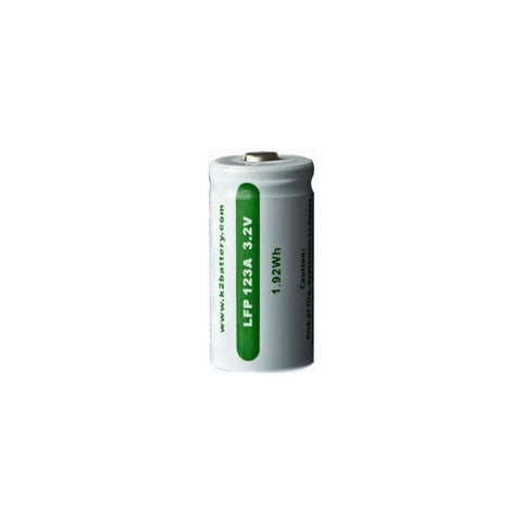 K2 Energy LFP123A Lion Rechargeable 3.2V Battery Replaces CR123A