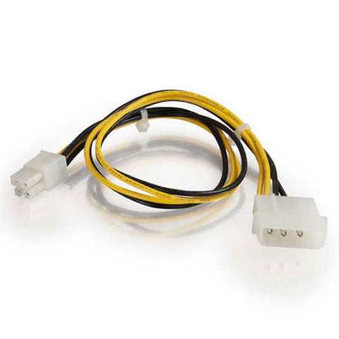 "Image of C2G 12"" ATX Molex to Pentium 4 Power Adapter - ATX12V"