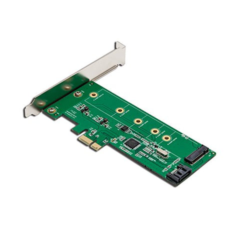 Syba SI-PEX50065 Low Profile Ready PCIe M.2 SATA III SSD Adapter Card