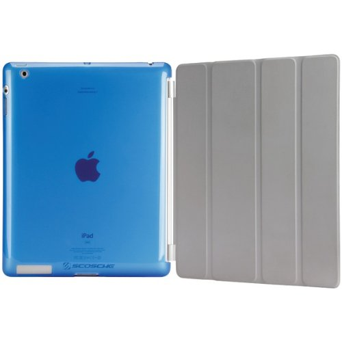 Scosche IPD2TPUBL2 glosSEE p2 Flexible Rubber iPad Case (Blue)