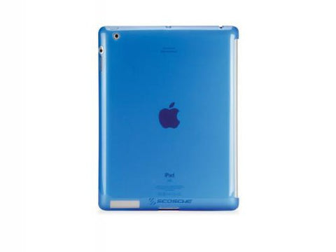 Image of Scosche IPD2TPUBL2 glosSEE p2 Flexible Rubber iPad Case (Blue)