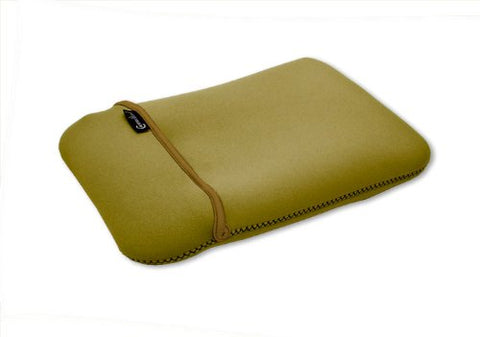 "Image of Syba 10"" Netbook Case Sleeve - Reversible Green / Brown"