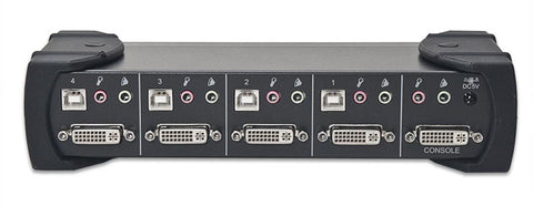 Syba USB DVI KVM Switch (4-Port)