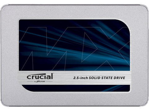 Image of Crucial MX500 2TB 3D NAND SATA 2.5 Inch Internal SSD - CT2000MX500SSD1