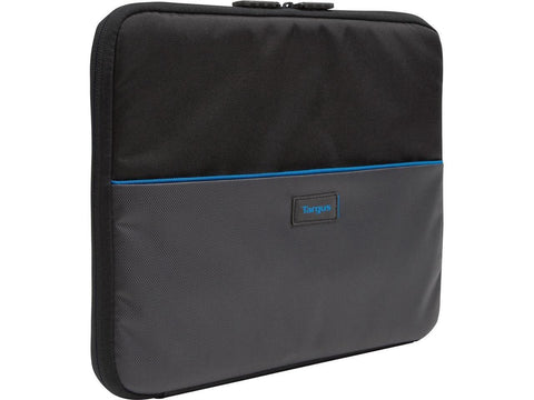 Targus Work-In TED012GL Carrying Case (Sleeve) for 11.6in Chromebook - Black/Gray