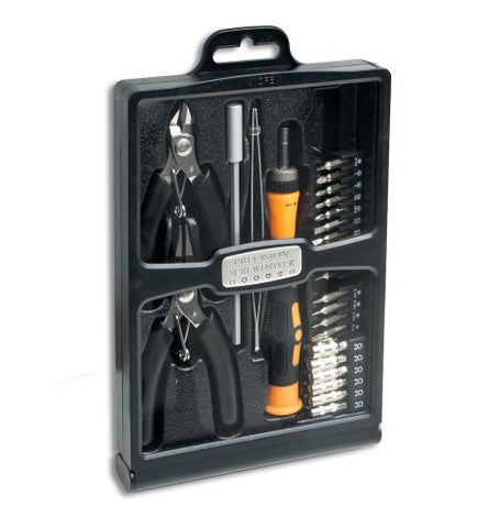 Image of Syba 32-Piece Hobby Tool Kit with Carrying Case