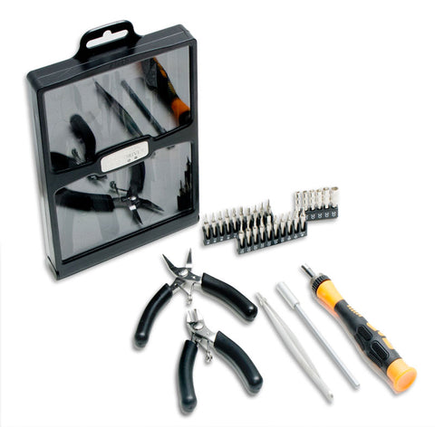 Syba 32-Piece Hobby Tool Kit with Carrying Case