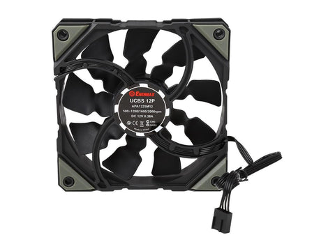 Image of Enermax ELC-LMR240-BS Liqmax II 240 / Liquid CPU Cooler 120mm Fan/ INTEL/AMD with AM4 Support