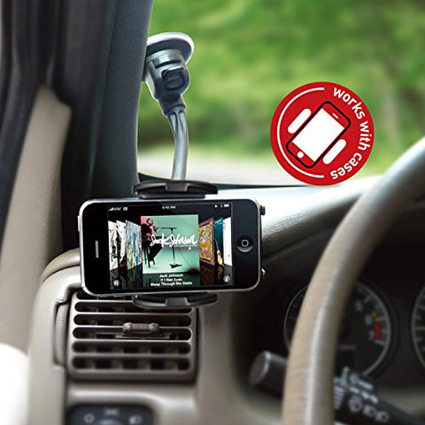 Image of Macally MGRIP Smartphone Suction Cup Mount