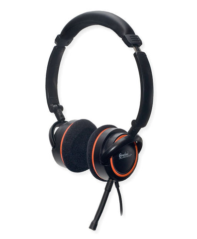 Syba Foldable Supraural Headphones with Microphone