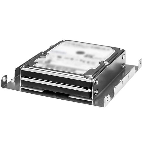 "Image of Athena Power BRK-HD322 3.5"" to 2x 2.5"" Hard Drive Bracket"