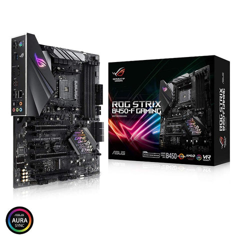 ASUS ROG STRIX B450-F GAMING AM4 AMD B450 SATA 6Gb/s USB 3.1 HDMI ATX AMD Motherboard