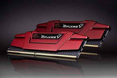 Image of G.SKILL Ripjaws V 16GB 2x8GB 288-Pin DDR4 2400 PC4 19200 Desktop Memory F4-2400C15D-16GVR