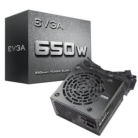 EVGA 650N1, 650W Power Supply 100-N1-0650-L1