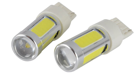 SwitchCarParts T20 Cob White Led Bulb Pair (2 Pieces)