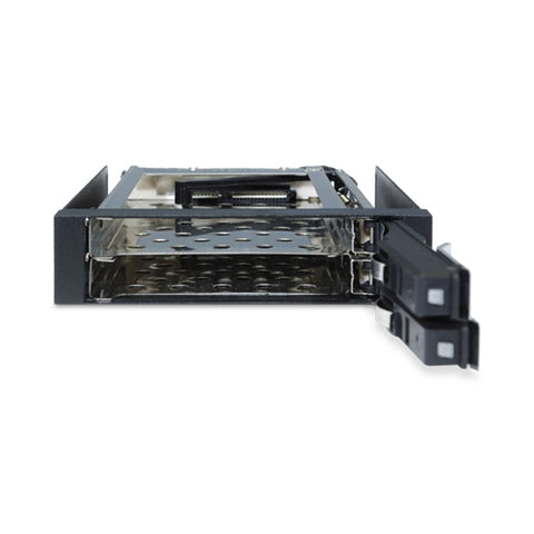 "Image of Kingwin KF-251-BK 3.5"" Bay Dual 2.5"" Internal Tray-less Mobile Rack"