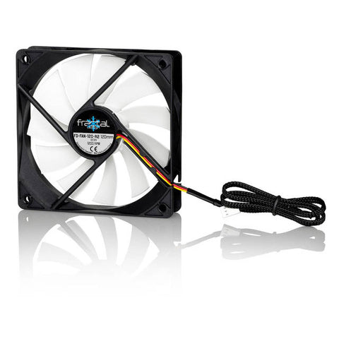 Image of Fractal Design Silent Series R2 120mm 3-Pin Case Fan (Black)
