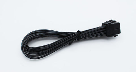 Image of BattleBorn CB-8PCIEXT- 8 Pin PCI-E Extension Cable - Braided Black