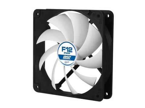 ARCTIC F12 PWM PST - Value Pack (5pc) - Standard Low Noise PWM Controlled Case Fan with PST