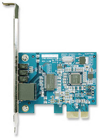Image of Intellinet 522533 PCIe x1 Gigabit PCI Network Card