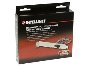 Intellinet 522533 PCIe x1 Gigabit PCI Network Card