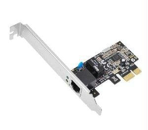 Siig CN-GP1021-S3 PCI Express Gigabit Ethernet RJ-45 Port Adapter