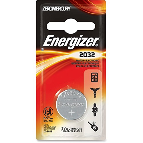 Energizer ECR2032BP Type 2032 3V Lithium Watch Battery