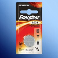 Image of Energizer ECR2032BP Type 2032 3V Lithium Watch Battery