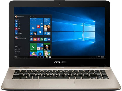 ASUS VivoBook AMD A9-9425 Dual Core with Radeon R5 Graphics, 8 GB DDR4 RAM, 256 GB SSD, 14 FHD Display, Windows 10, F441BA-DS95
