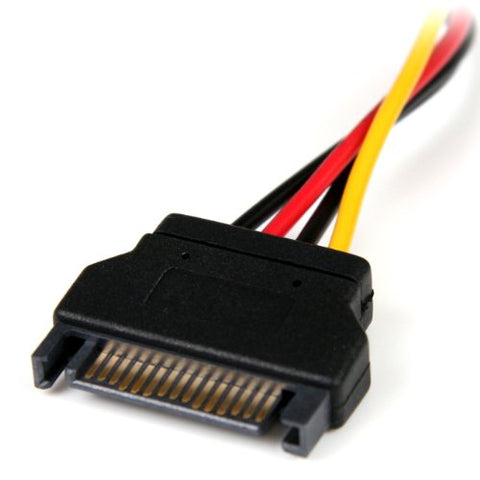 "Image of StarTech LP4SATAFM6IN SATA to LP4 6"" Adapter Cable"
