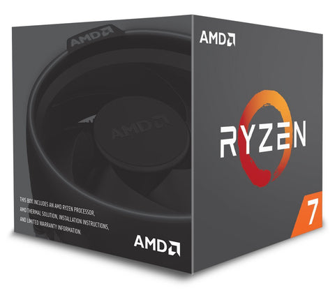 Image of AMD RYZEN 7 2700 8-Core 3.2 GHz (4.1 GHz Max Boost) Socket AM4 65W YD2700BBAFBOX Desktop Processor